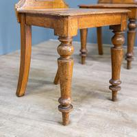 Pair of Victorian Hall Chairs (3 of 9)