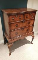 Superb George II Period Walnut Chest on Stand (2 of 6)