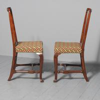 Antique Pair of George II Mahogany Side Chairs (3 of 10)