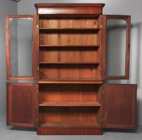 Victorian Mahogany 2 Part Library Bookcase (2 of 9)