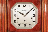Art Deco Westminster Vedette Carillon Oak Wall Clock French c.1935 (13 of 13)