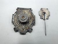 WW2 Polish 1st Tadeusz Kosciuszko Infantry Division - Breast Badge & Stick Pin (4 of 5)