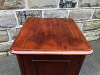 Antique Mahogany Bedside Cabinet (10 of 10)