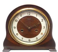 Very Good Arched Top Art Deco Mantel Clock – Smiths Striking 8-day Mantle Clock (4 of 10)
