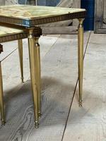 Nest 3 Onyx & Brass Tables (5 of 16)