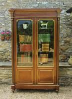 19th Century French Directoire Style Mahogany Bookcase Cabinet (9 of 11)