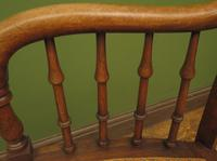Unusual Antique Bentwood Chair with Caned Seat & Back (14 of 17)