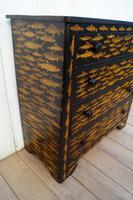 Victorian Chest of Drawers with Fish Decoupage (3 of 11)