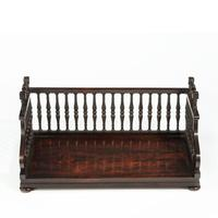 Regency rosewood book tray attributed to Gillows (4 of 7)