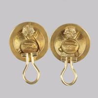 Paloma Picasso 18ct Gold X Earrings Vintage Dome Kiss Post Tiffany & Co Earrings (12 of 13)