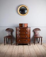 George III Mahogany Bowfront Chest of Drawers (5 of 5)