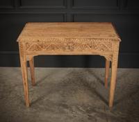Raw Oak Sandblasted Side Table (8 of 11)