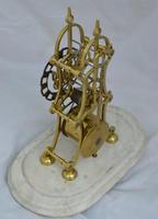 English  Victorian Skeleton Clock (2 of 5)