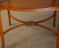 Satinwood Tray Top Table (2 of 8)