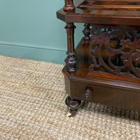 Victorian Rosewood Antique Canterbury (6 of 7)