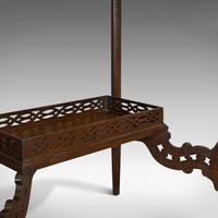 Antique Bijouterie Table, English, Walnut, Glass, Display, Edwardian c.1910 (6 of 12)