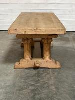 Extremely Rare Large Oak Refectory Table (26 of 35)