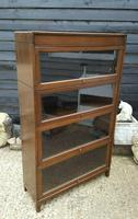 Antique Four Tier Solicitors Stacking Bookcase (4 of 4)