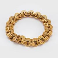 Vintage 18 Carat Gold Bracelet c.1960