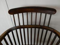 Early 19th C English Comb Back Windsor Chair (2 of 7)