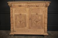 Stunning Pair of Raw Oak Side Cabinets (12 of 19)