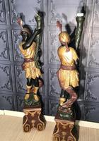Pair of Blackamoor Figures (16 of 18)