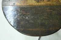 Early 18th Century Oak Drop Leaf Table (7 of 11)
