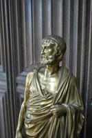 Grand Tour Gilt Bronze Roman Scholar (4 of 6)