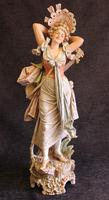 Impressive Large Antique Figure of Young Girl (14 of 28)