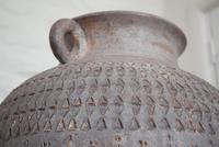 Large Mediterranean Earthenware Floor Vase with Loop Handles (9 of 10)