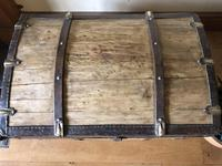 Antique Domed Wooden Sea Trunk c.1850 (13 of 13)