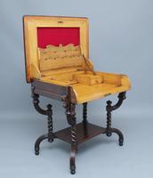 Early 20th Century Metamorphic Oak Desk (2 of 8)