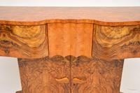 Art Deco Burr Walnut Console Table by Hille (5 of 12)