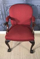 Pair of Mahogany Desk Chairs c.1920 (10 of 15)