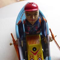 Vintage Tin Plate Wind Up  Boat (5 of 10)