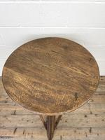 Traditional Style Oak Cricket Table (3 of 10)