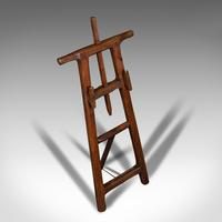 Antique Artist's Easel, English, Picture Stand, Arts & Crafts, Victorian c.1900 (7 of 12)