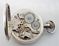 1920s silver Cyma pocket watch (3 of 5)