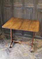 Oak Occasional Side Tea Table (8 of 9)