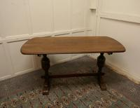 Good Quality Oak Refectory Dining Table
