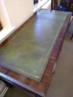 Early Victorian Three Drawer Writing Table (4 of 5)