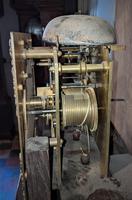 Early 20th Century Oak Granddaughter Clock (5 of 6)