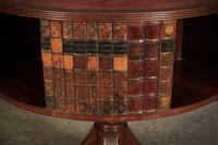 Rare Revolving Bookcase Drum Table (5 of 10)