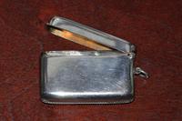 1913 Silver Vesta Case by Birmingham Silversmith Charles S Green & Co Ltd (5 of 6)