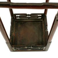 Chinese 19th Century Rosewood Stand (5 of 7)