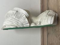 French Classical Young Lady Wearing Bonnet Wall Sculpture (18 of 20)