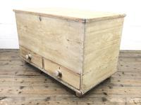 Antique Pine Blanket Box or Mule Chest (7 of 10)