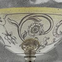 George V Sterling Silver Tazza London 1928 Theodore Rossi (9 of 10)