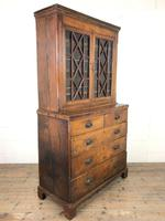 19th Century Oak Two Stage Bookcase (9 of 11)