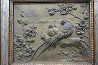 Early 20th Century Cold Cast Bronze Plaque of Two Lovebirds (3 of 5)
